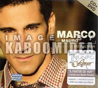 Marco Di Mauro CD DVD Algo Que Me Faltaba Deluxe New