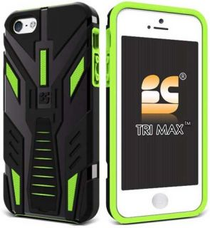 black green tri max case for apple iphone 5