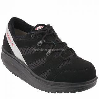 MBT Sport Schwarz Black Herren Damen Schuhe Masai Shoes Sneaker Scarpe