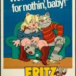 Fritz The Cat Original U s One Sheet Movie Poster