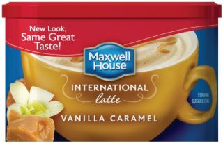 Maxwell House International Coffee Vanilla Caramel Latte 8 7 oz Each