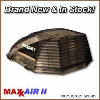 Maxxair II RV Vent Cover Smoke 1 Pack Brand New Maxx Max Air 2 Trailer