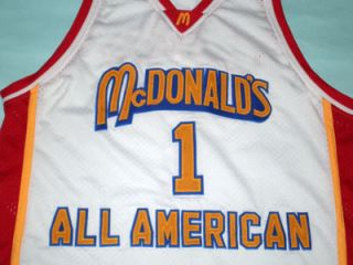 Tracy McGrady McDonald All American Jersey New McDonalds White Any