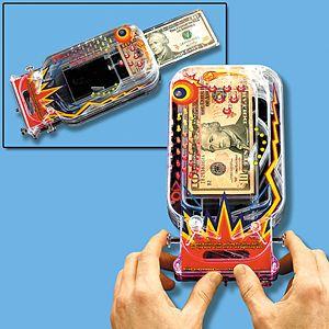 Pinball Money Maze Game Gift Card Money Holder
