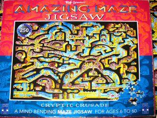 Amazing Maze Jigsaw Puzzle by Rolf Heimann 250 Pieces