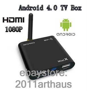 HDMI Full HD 1080p HDTV Google Smart TV Box A10 Media Player