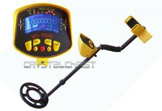 MD 3010II Underground Metal Detector Gold Digger Treasure Hunter