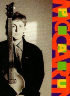 Paul McCartney 1989 World Tour Program Concert Tourbook