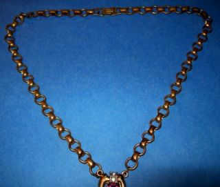 McClelland Barclay RARE Green Red Blue Purple Necklace
