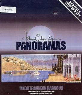 Mediterranean Harbour John Clayton Cross Stitch Pattern