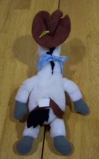 Vintage Hanna Barbera Quick Draw McGraw Horse Plush Toy
