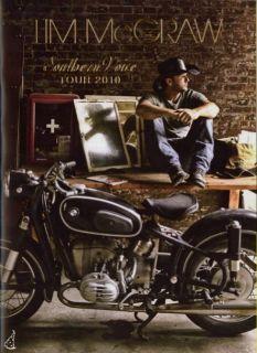 Tim McGraw 2010 Southern Voice Tour Concert Program Book