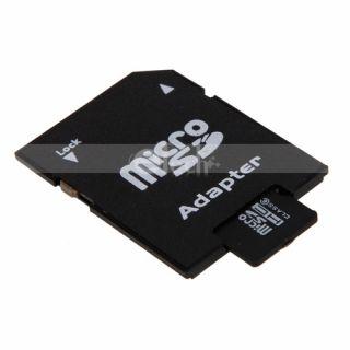 4GB Micro SD SDHC 4G TF Memory Card Adapter Reader Orange