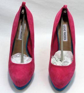 Steve Madden Opticall Platform Stiletto Suede Heels in Box Size 6 5
