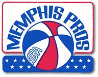 Memphis Pros ABA NBA Basketball 1971 1972 Retro Throwback Logo 3 Sew