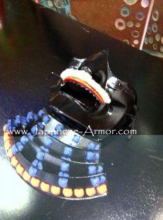 Japanese Samurai Mempo Men Yoroi Face Mask Armor Menpo Armour