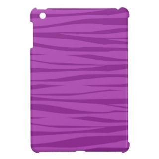 Purple Zebra Print iPad Mini Case