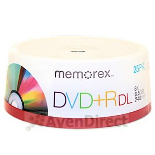 Memorex DVD+R DL Dual Layer Media
