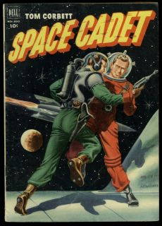 Comics 400 Tom Corbett Space Cadet Dell TV McWilliams Cover Art