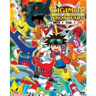 Digimon Xros Wars 1 30 Episodes TV Series DVD Box Set