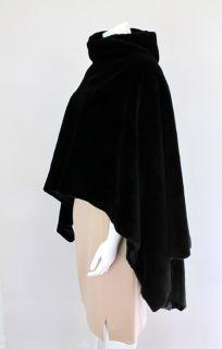 Mendel Mink Poncho Black Legend at Socialite Auctions 57 40