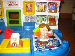 Fisher Price Little People Market Place Mercado