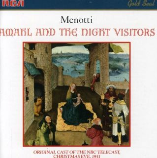 Menotti Menotti Amahl and The Night Visitors CD