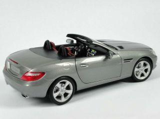 18 Mercedes Benz SLK 2011 R172 paladium silber silver Dealer OEM