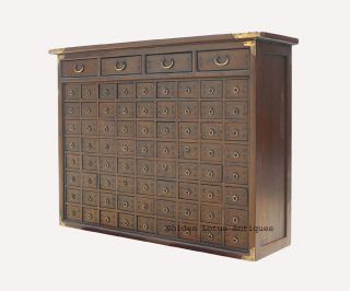 Two Pieces Set Chinese Medicine Jewelry Cabinet AWK1302