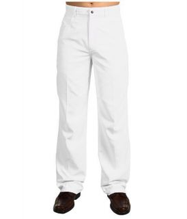 Mens Callaway Pants Solid 5 Pocket Tech Pants Bright White BDSB0047
