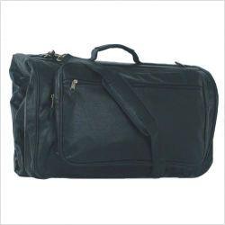 Mercury Luggage 8114bk   Highland II Tri Fold Black Garment Bag