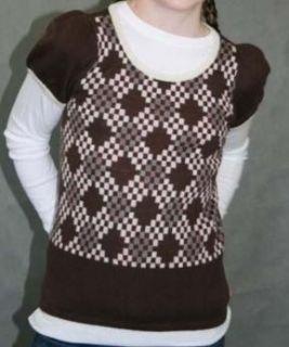 Juicy Couture Kids Cashmere Merino Argyle Sweater 12 P