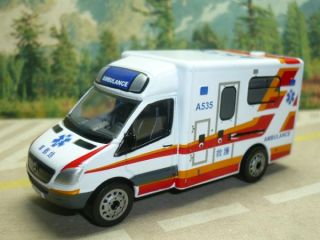 Mercedes Benz Sprinter HK Hong Kong Ambulance 1 77 8cm Long 1 77