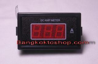5A DC Amp Meter Digital Seven Segment Panel 2 Digit