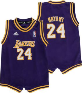 Kobe Bryant Los Angeles Lakers Infant Mesh Jersey Creeper
