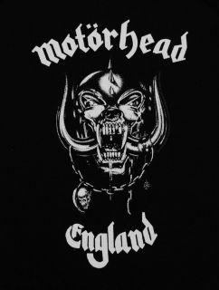Motorhead England Skull Logo Metal Band Baby Creeper Romper