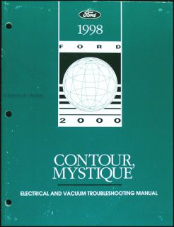 1998 Ford Contour Mercury Mystique Electrical Troubleshooting Manual