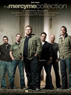 The MercyMe Collection Easy Piano Sheet Music Song Book