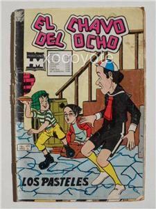 1979 El Chavo Del Ocho 243 CHESPIRITO No Chapulin Colorado Spanish