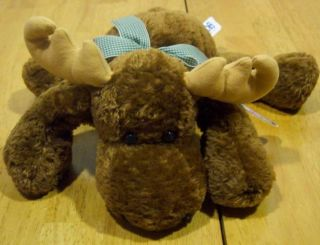Mary Meyer Flip Flops Floppy Milty Moose 12 Plush Stuffed Animal Toy