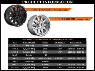 Method MR301 Standard 18x9 Machined Wheels 6x5 5 Qty 4 Silverado Titan