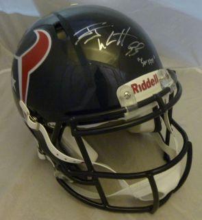 JJ Swatt Watt Autographed Signed Houston Texans Speed Proline Helmet