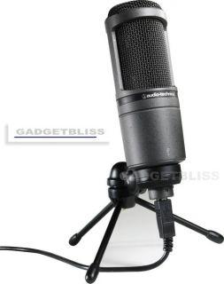 Audio Technica AT2020 USB at 2020 AT2020USB USB Mic
