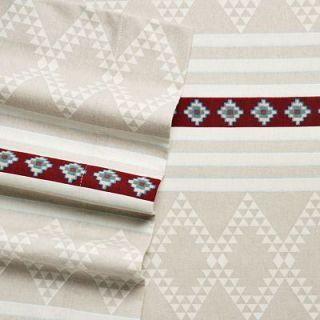 Southwestern Mesa Heavy Cotton Flannel Twin Sheet Set
