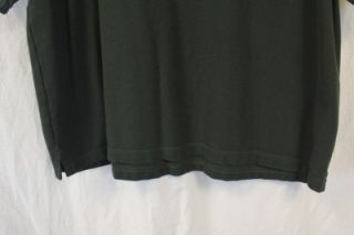 Michael Collins Irish Whiskey Mens Green Short Sleeved Polo Golf Shirt