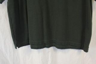 Michael Collins Irish Whiskey Mens Green Short Sleeved Polo Golf Shirt
