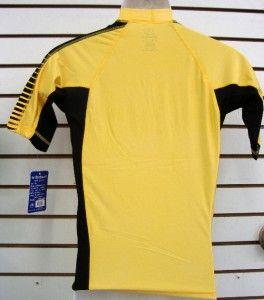 Mens SPF 50 Surf Shirt Rash Guard Short Sleeve Small thru 2XL Rgmap
