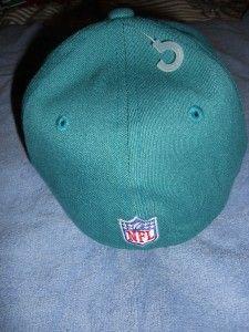 Miami Dolphins Reebok NFL Official Hat Baseball Cap Sizes s M L XL