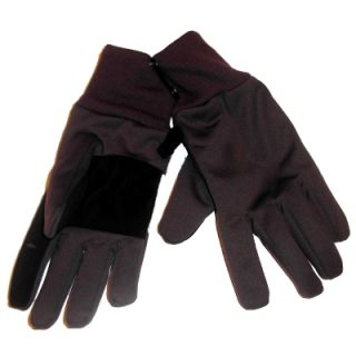 Mens Gray Winter Snow Gloves Neoprene
