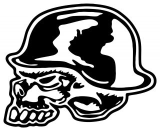 Large Metal Mulisha Decal Sticker Motocross Fox Skull